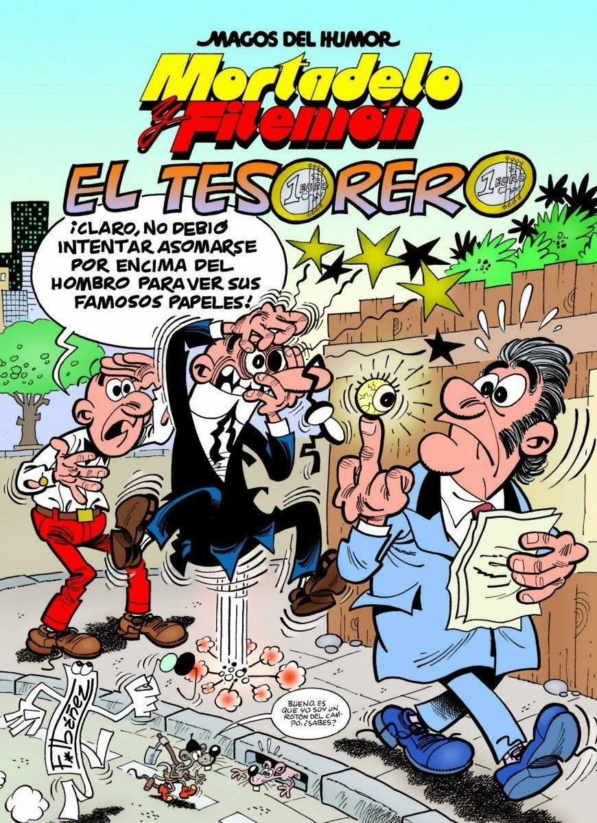 Mortadelo y Filemón - El Tesorero