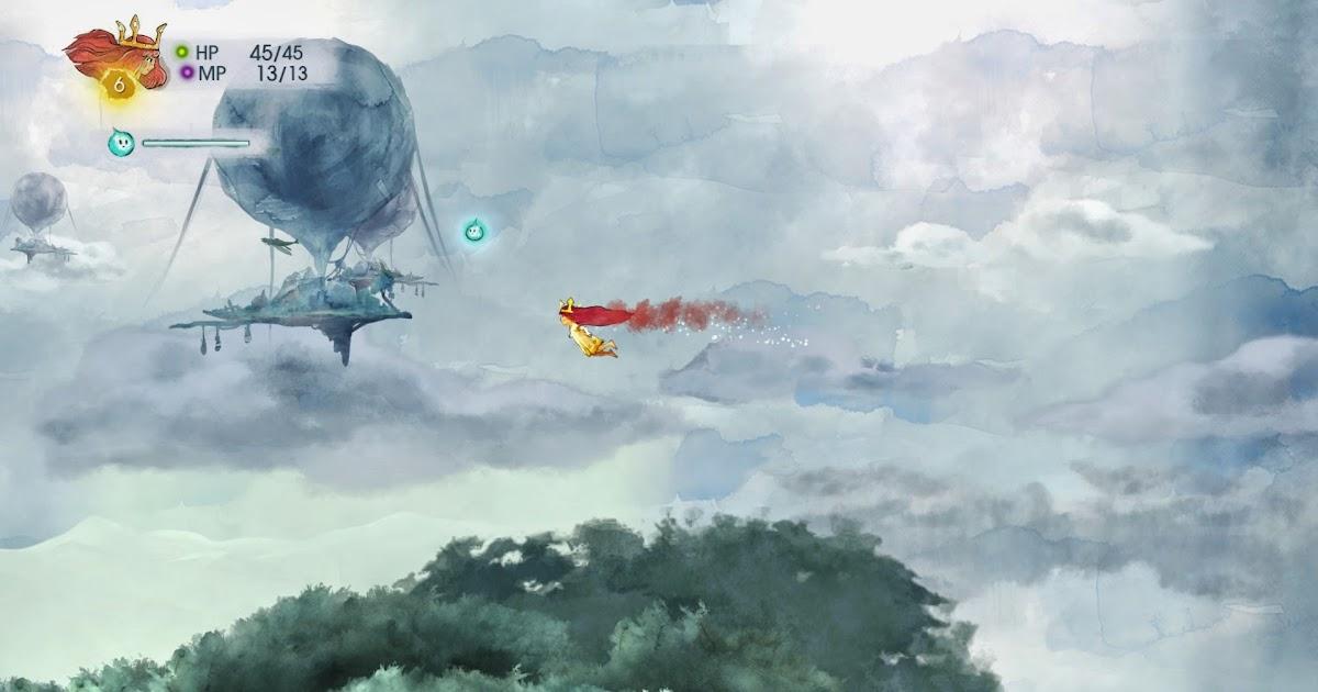 Child of Light 光明之子:等到一個真正宮崎駿式童話RPG