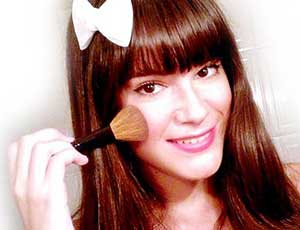 Monika sanchez maquillaje
