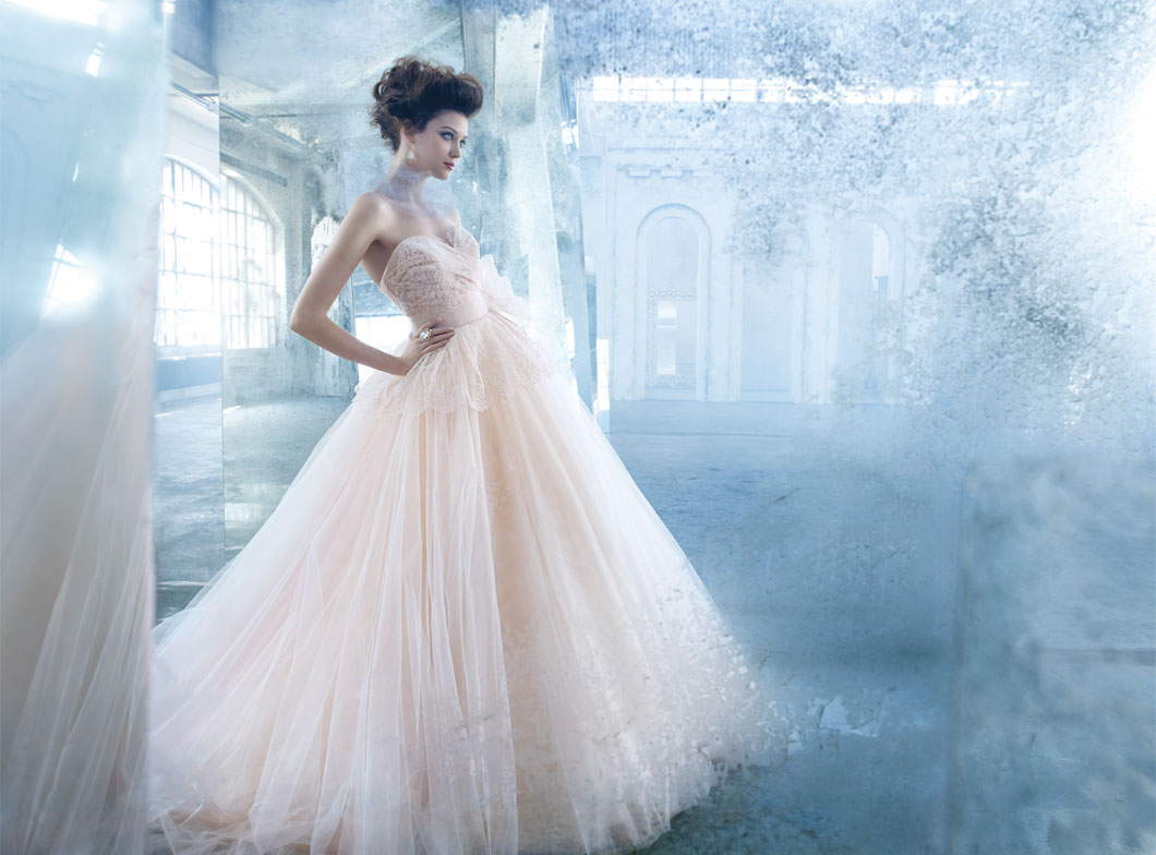 Awesome shooting, awesome wedding gowns: Lazaro bridal collection ...