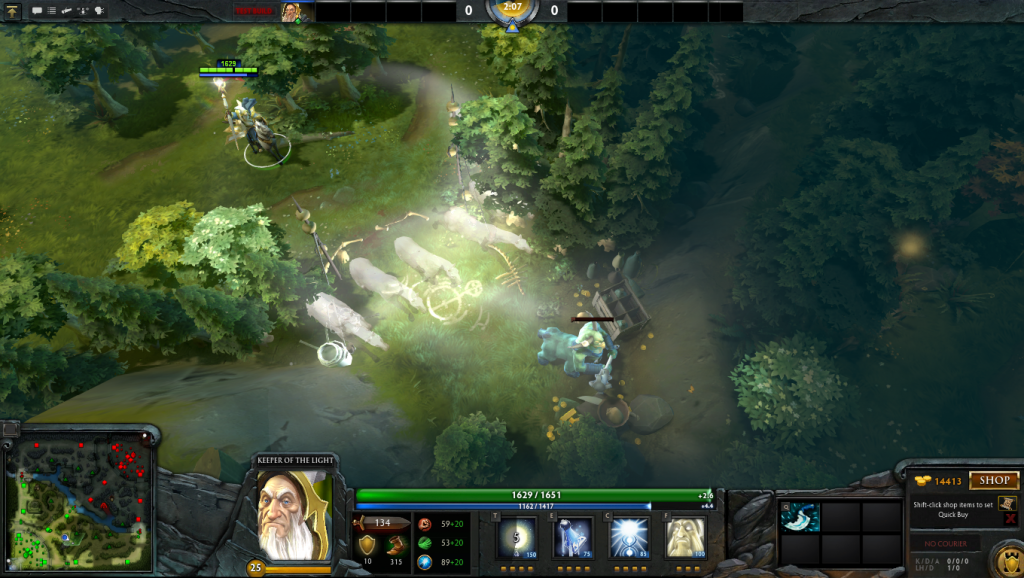 dota 2 keeper of the light preview get more lesson