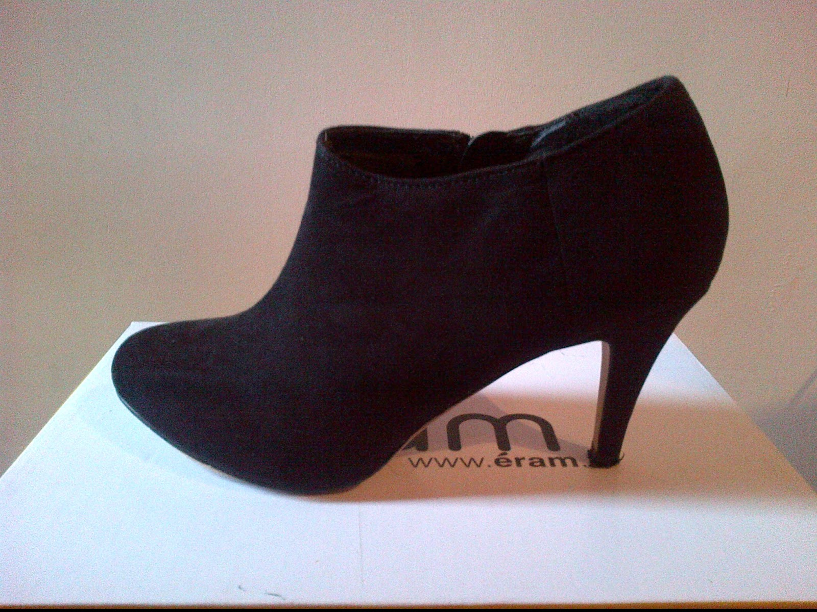 Populaire envidedressing: Low boots / bottines en daim noir - taille 38 - 30  CN11