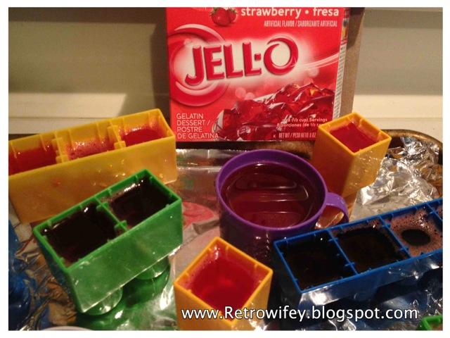 how to make jello legos
