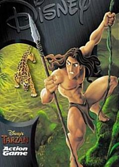 Disney's Tarzan Game Poster | Disney's Tarzan Game Cover