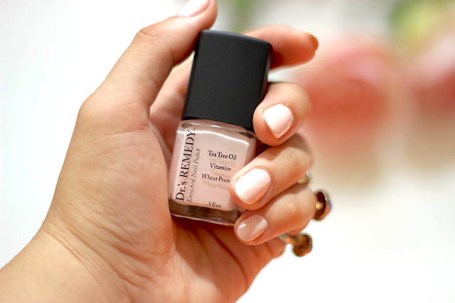 Dr.'s Remedy Nail Polish in Promising Pink