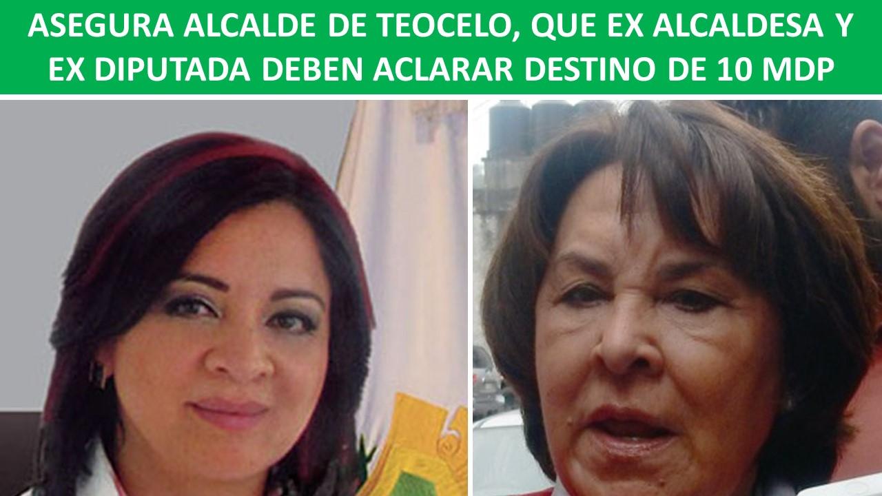EX DIPUTADA DEBEN ACLARAR DESTINO DE 10 MDP
