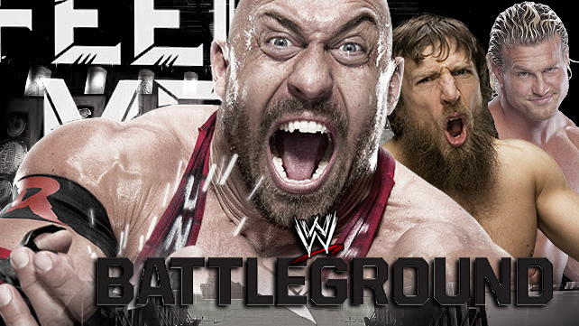 WWE Battleground 2013 Full Poster HD - WWEShowz.Com