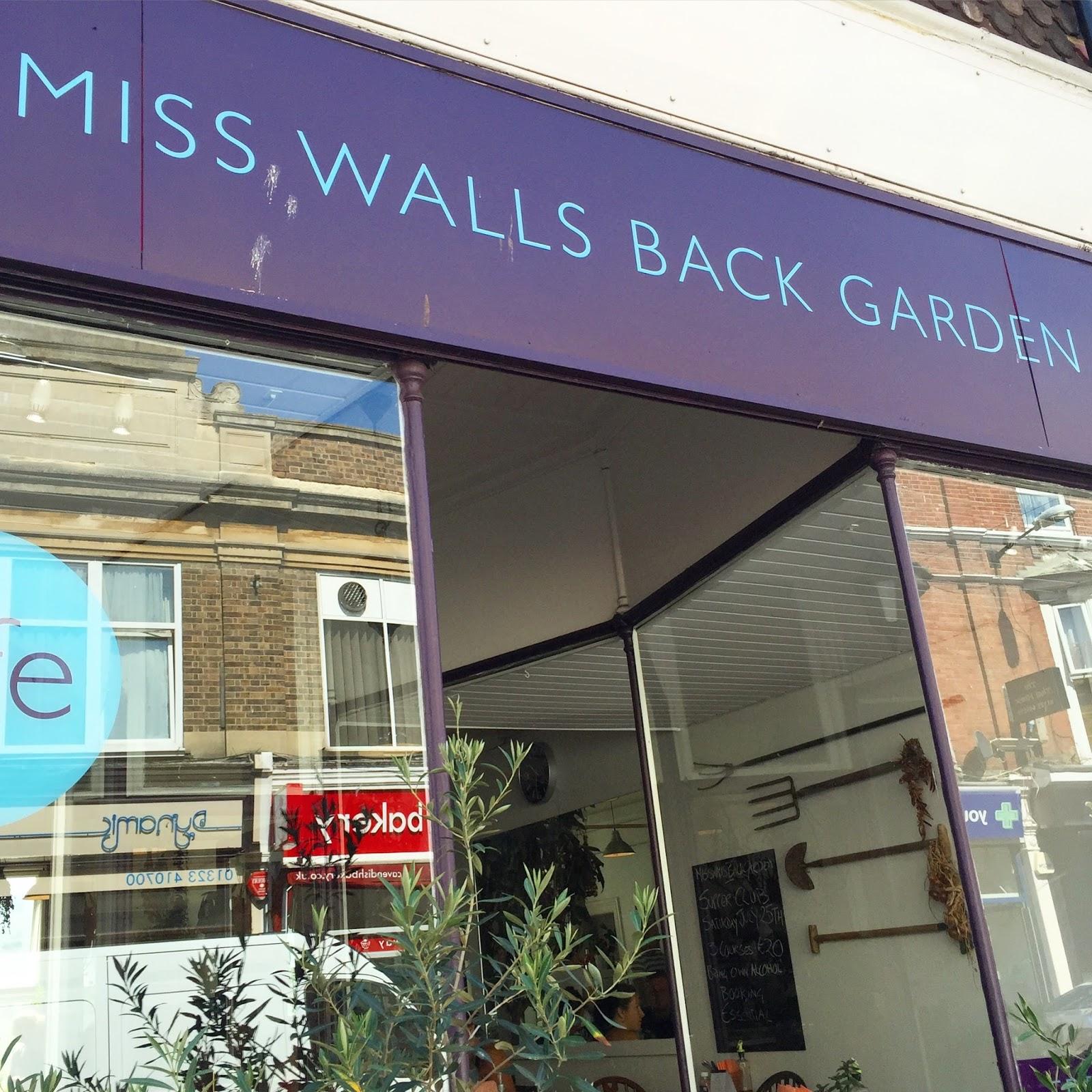 miss walls back garden eastbourne the v nice life