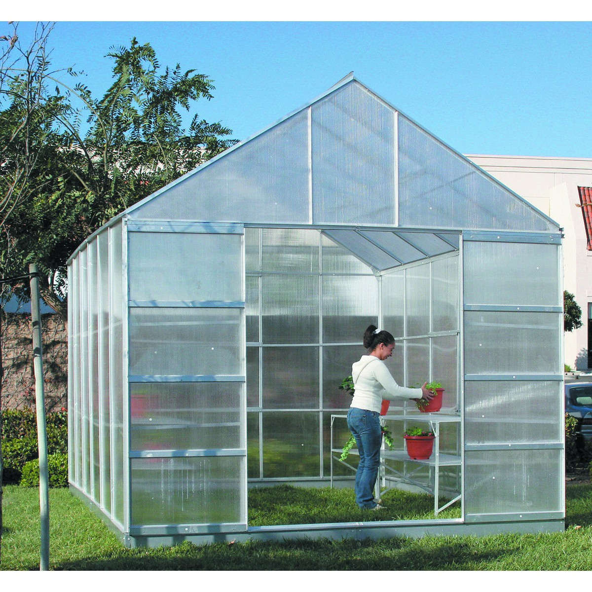 Backyard Greenhouse Kit : have built everything here at the Mini Farm with my own designs and
