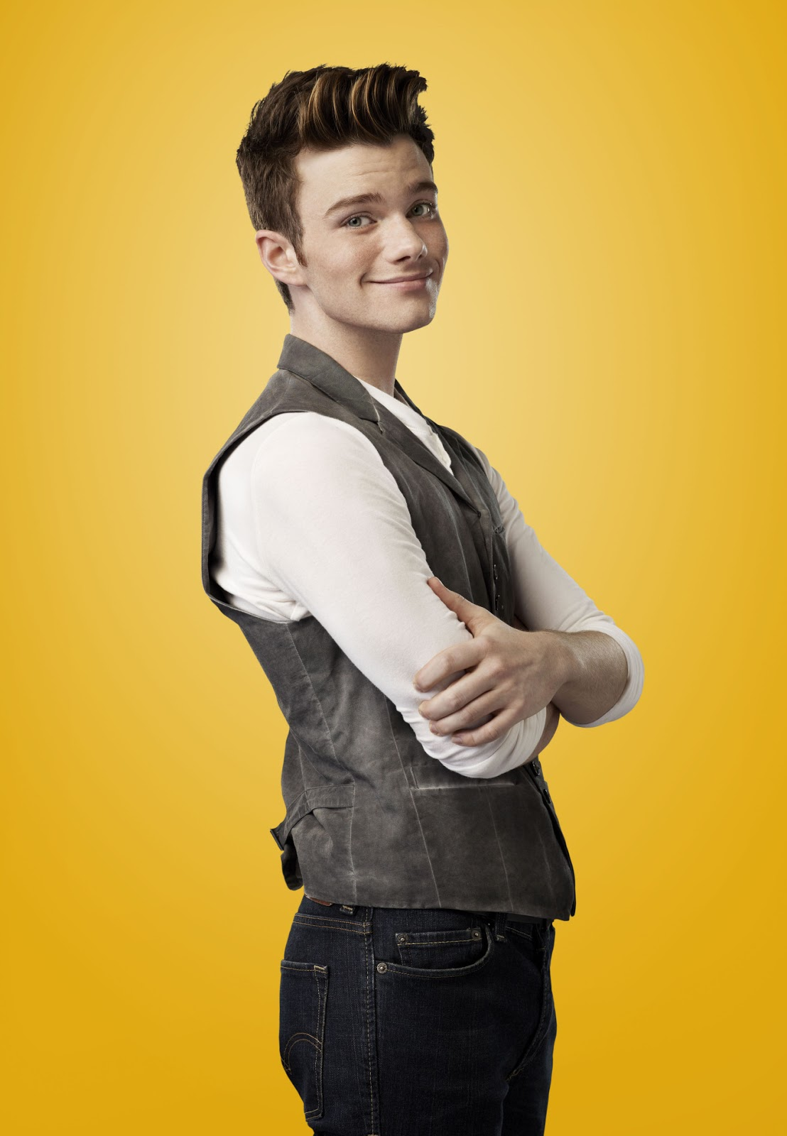 Is chris colfer gay