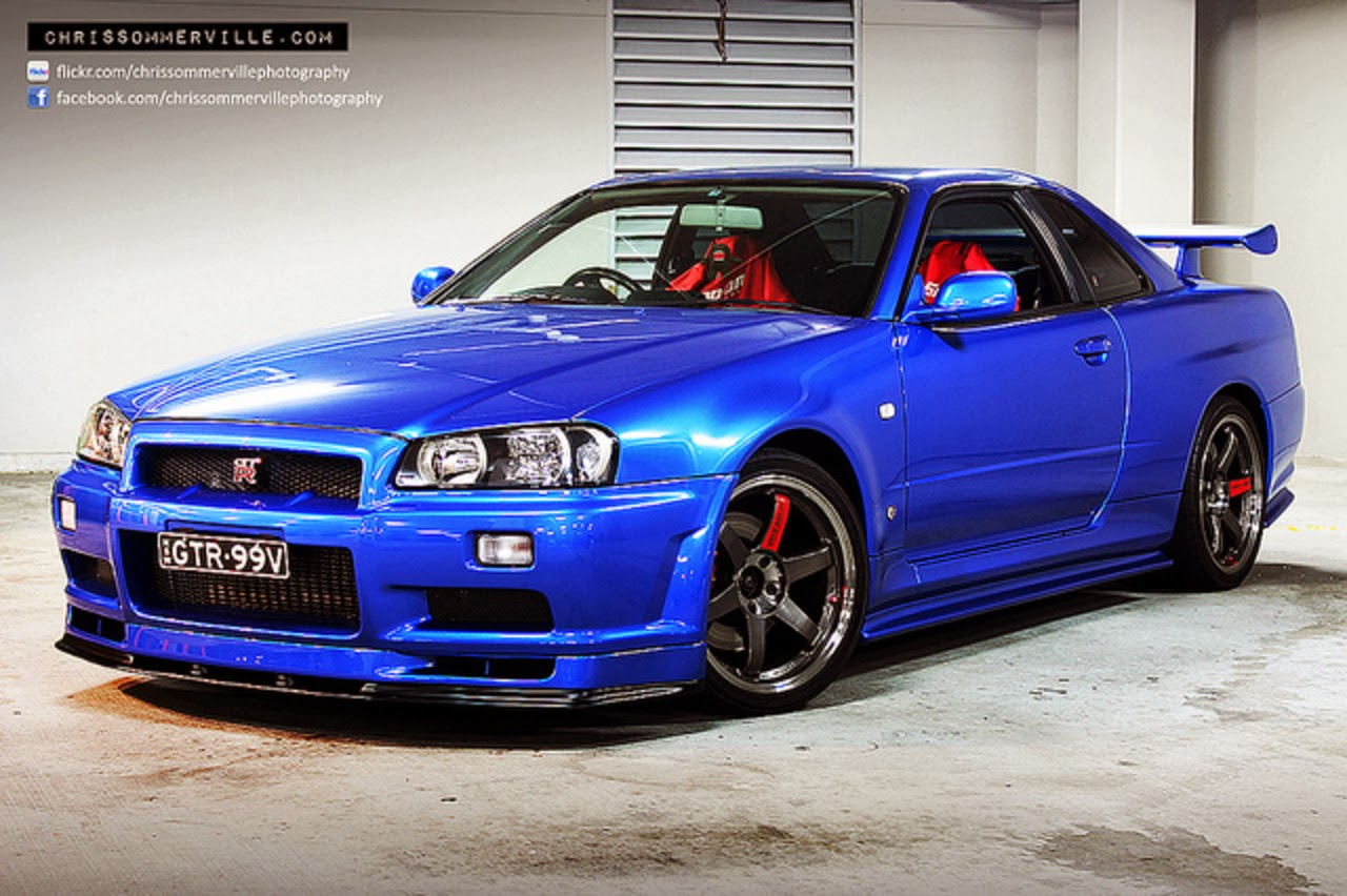 nissan skyline rockets: nissan skyline r34 gt-r wallpaper 19