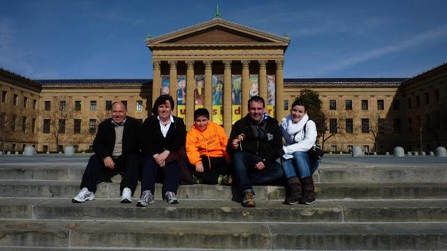 Escaleras de Rocky, Filadelfia