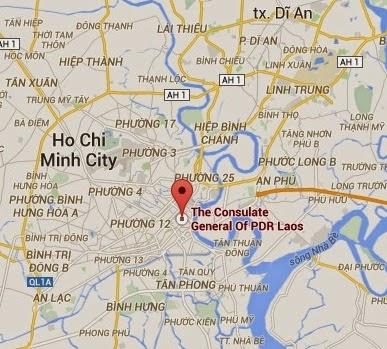 Laos Hochiminh Konsolosluğu