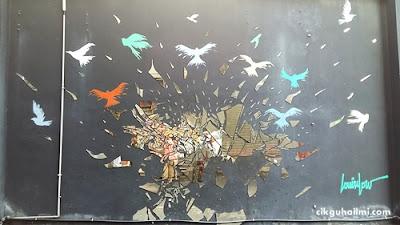 Menghayati Seni Streetart di Laman Seni 7