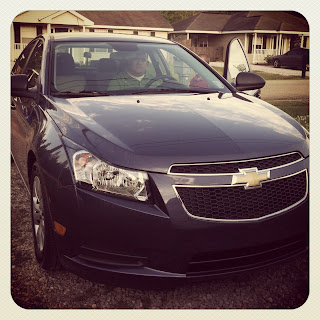 New Car_Chevy Cruze_Happy