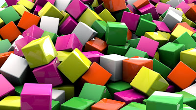 colorfull cubes