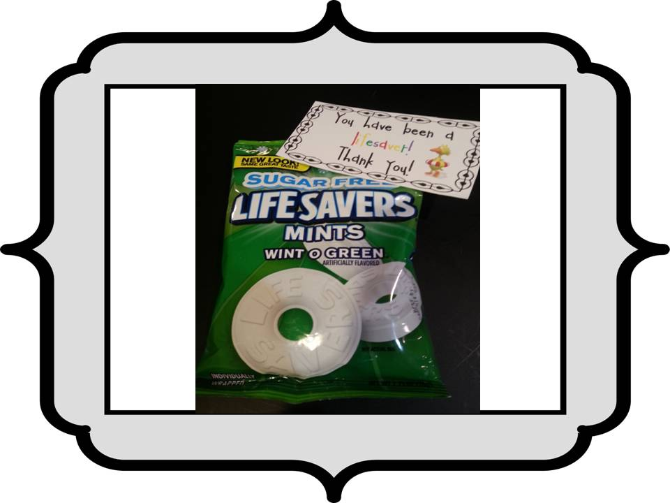 lifesaver candy thank you ideas   just b.CAUSE