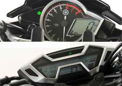 speedometer New Vixion Advance vs New CB150R