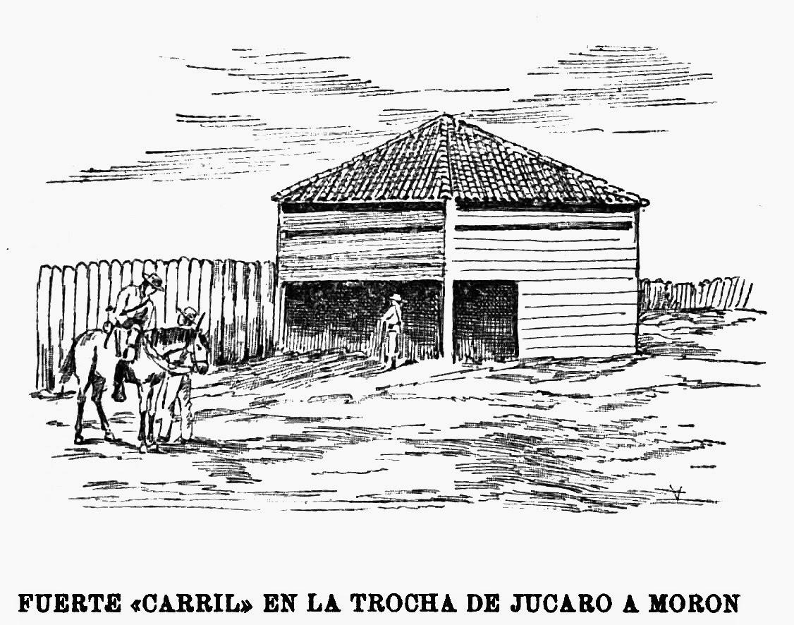 Fuerte Carril tenía un establo en la parte baja