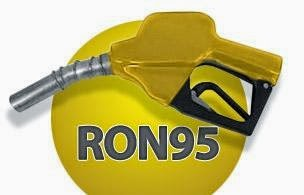 Petrol RON95 Turun 4 Sen Kepada RM 2.26 Seliter