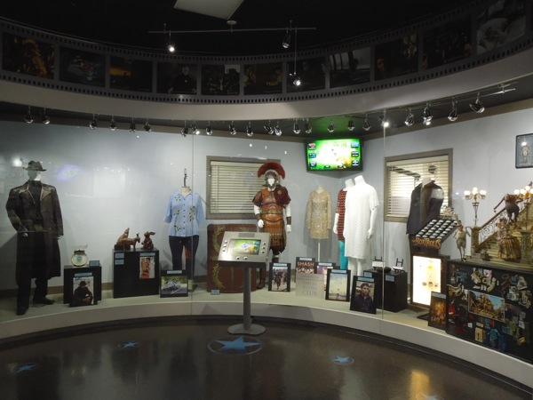 NBC Universal costume prop exhibit April 2014