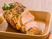 Herb-Crusted Pork Roast with Pan Gravy