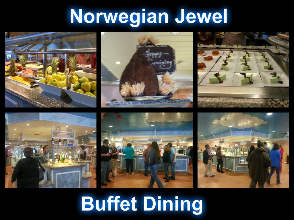 Norwegian Jewel Garden Cafe