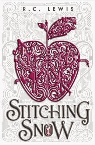 stitching snow by r.c. lewis book cover