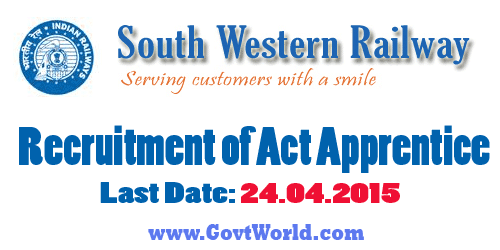 South Western Railway 338 Act Apprentice Recruitment 2016
