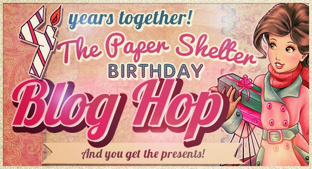 Come back on the 3rd December  for a Fabulous Birthday Blog Hop