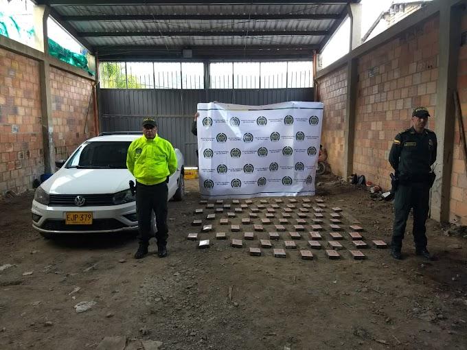 Otro cargamento de coca fue incautado por la Policía, en la Troncal Central del Norte, o vía Panamericana