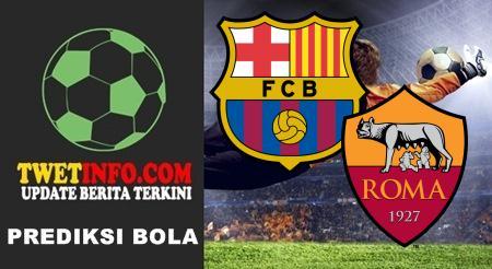 Prediksi FC Barcelona vs AS Roma