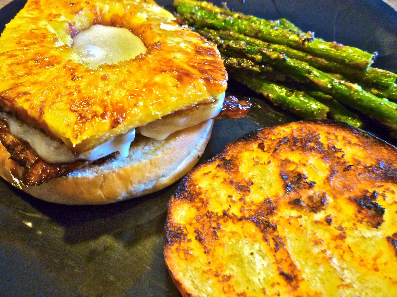 Sweet and Sassy: Hawaiian Chicken Burgers