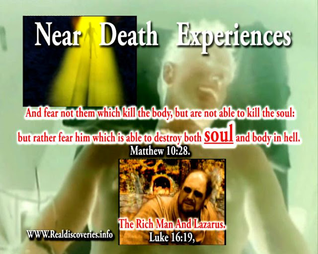 Near Death Experiences.