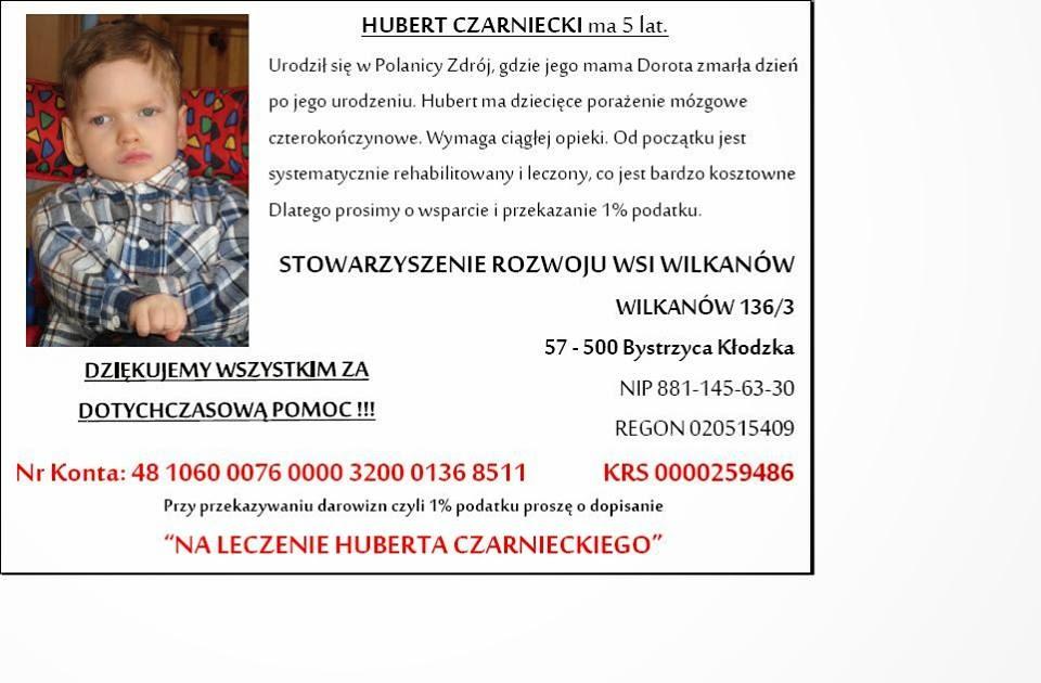 Pomóżmy Hubertowi