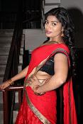 Sowmya glamorous half saree photos-thumbnail-11