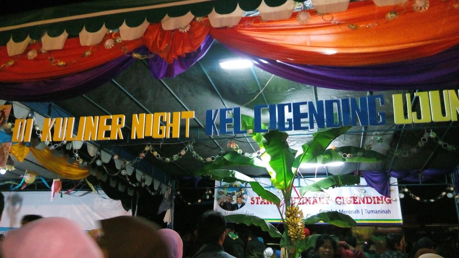 Ada Apa Saja Di Bandung Culinary Night?
