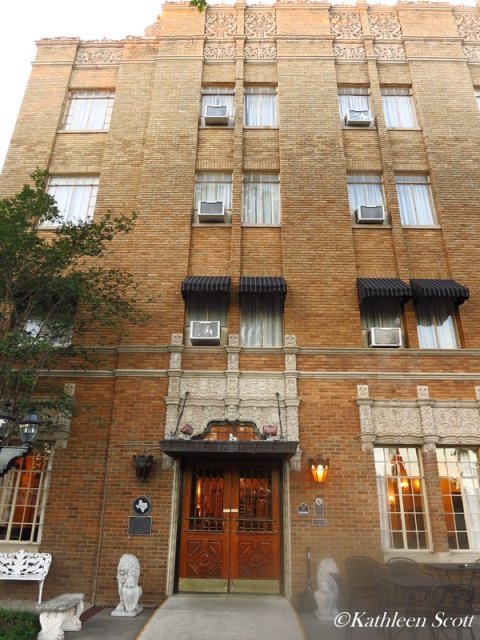 in 1929 two weeks before the stock market crash he opened a splendid four story brick hotel in the little texas town of new