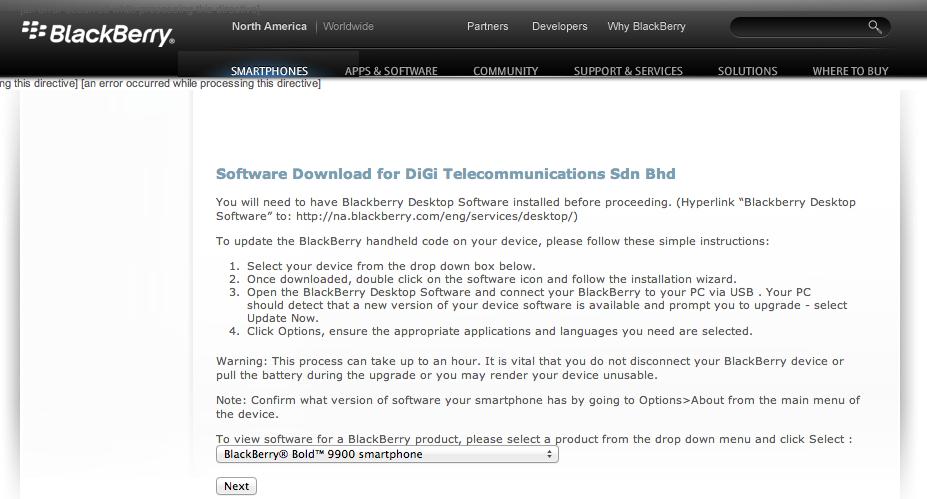 Tutorial] Custom Upgrade BlackBerry OS 7.1 Walkthrough   D.S の Space