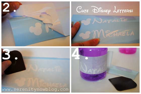 Silhouette Vinyl Craft Disney Travel Kids