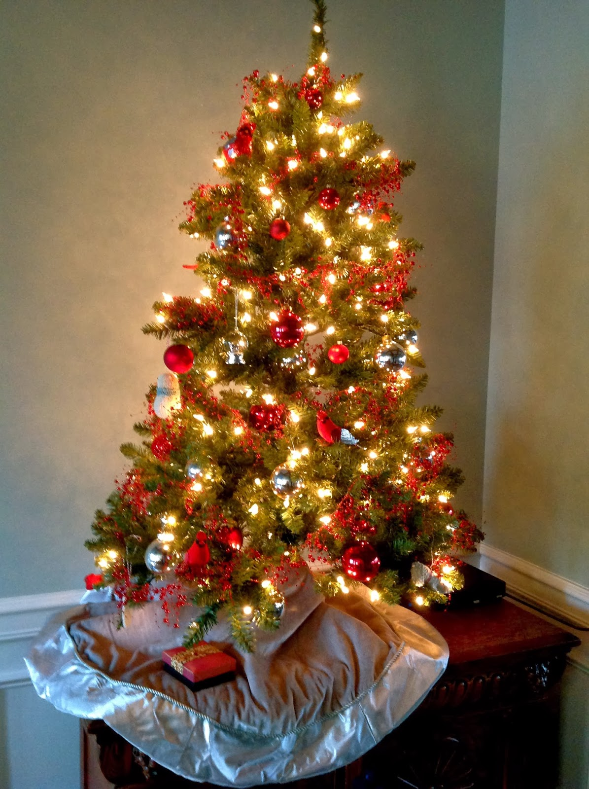 My Mother's Apron Strings: Oh Christmas Tree...