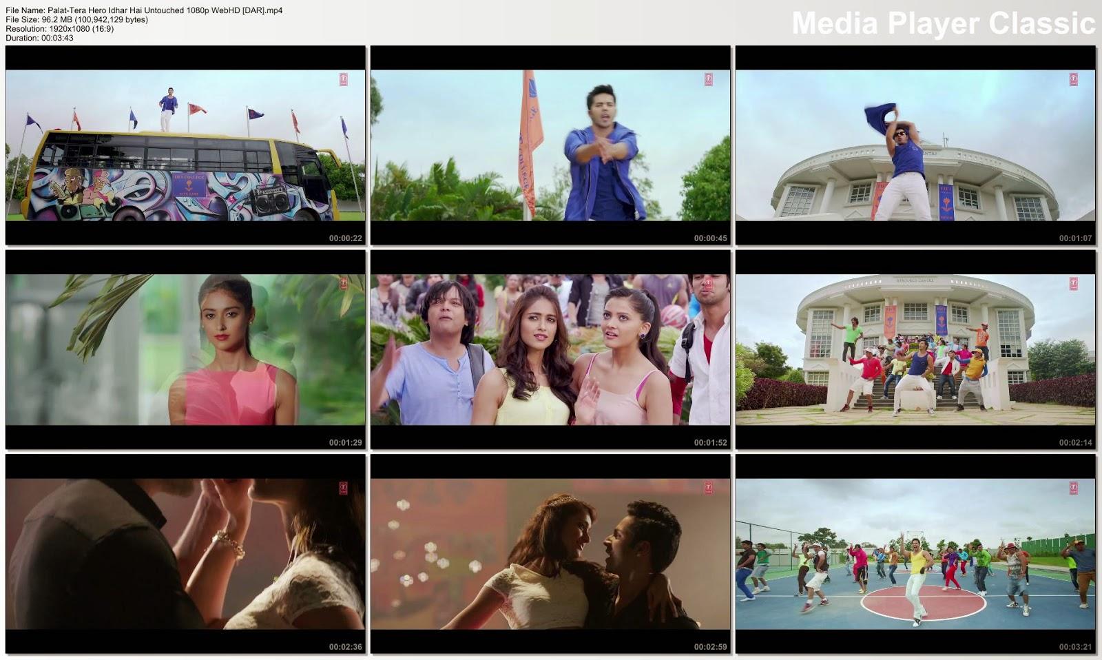 Download main tera hero songs video