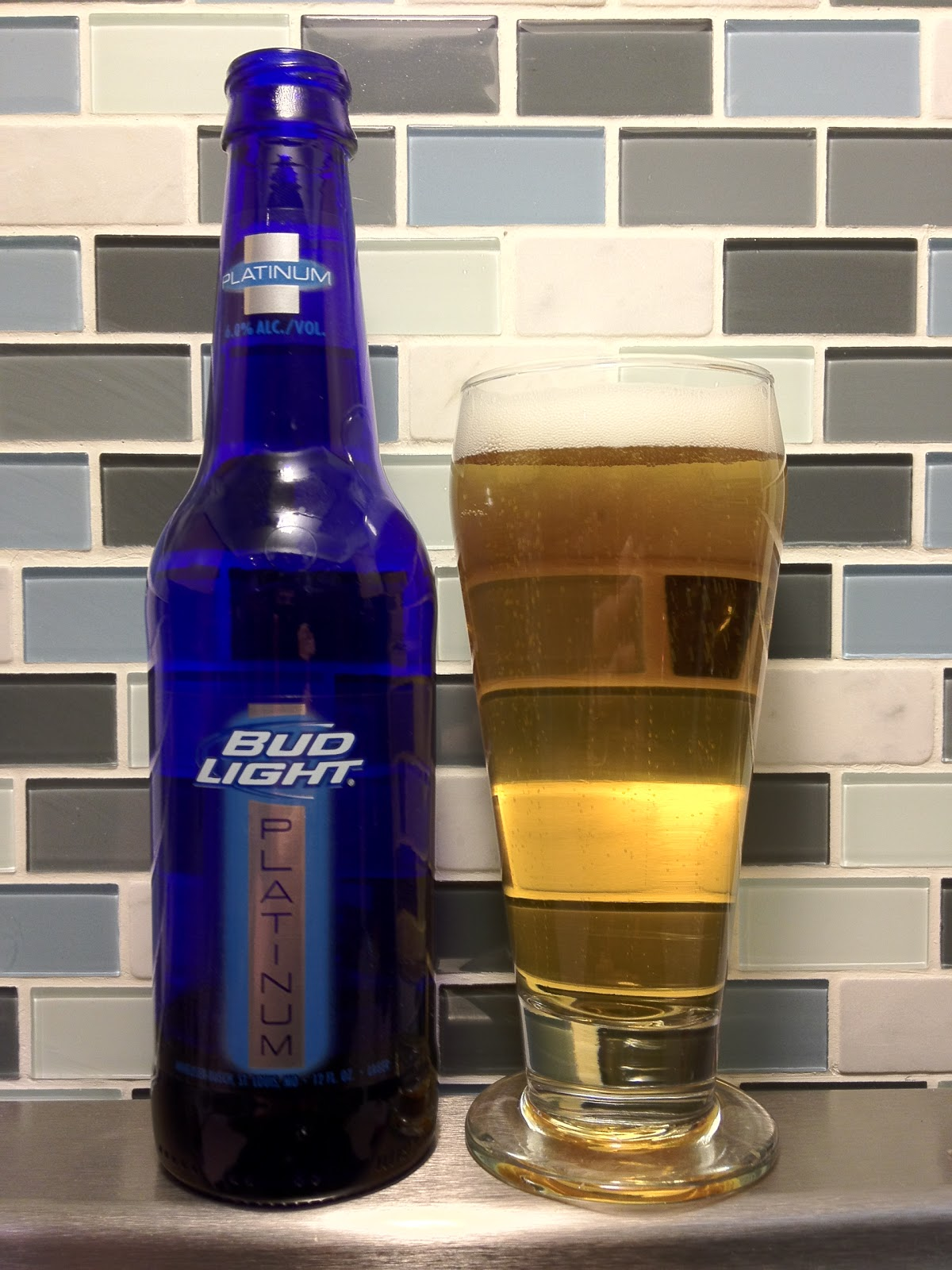 light daily bud beer platinum review