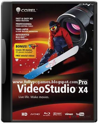 Free Download VideoStudio Pro X4 For Windows Cover Photo