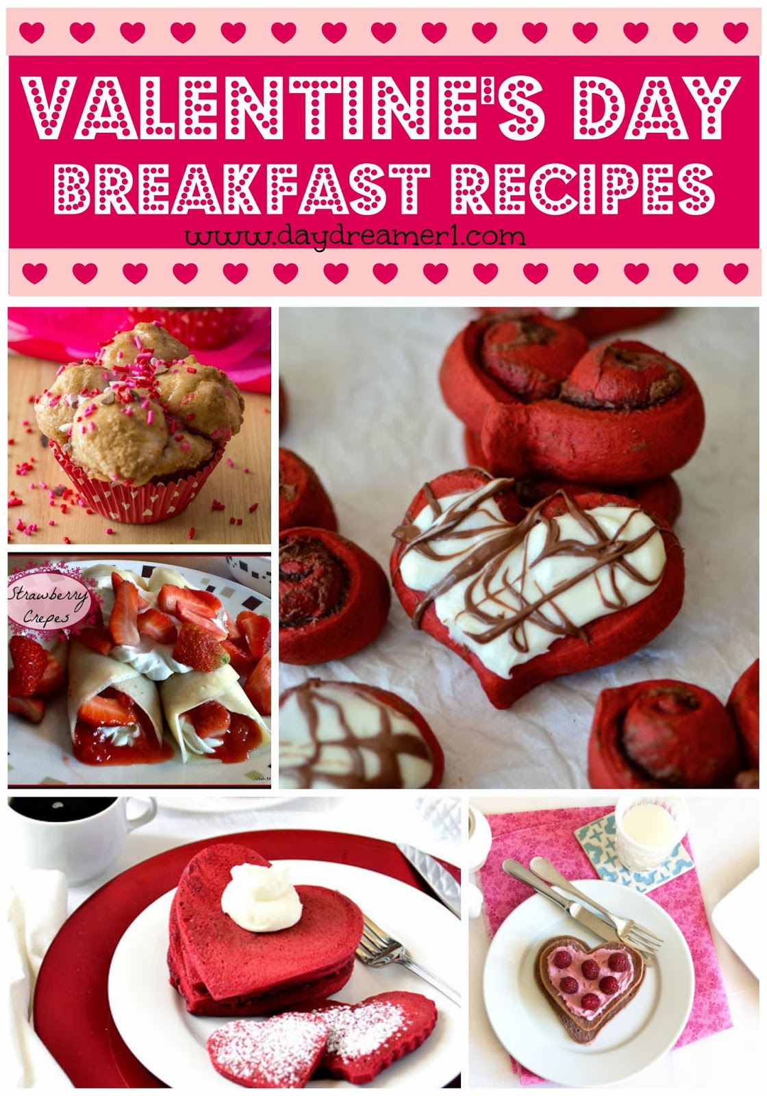 Breakfast Recipes-Valentines Day