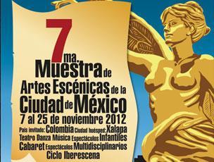 Muestra de Artes Escénicas de la Ciudad de México 2012