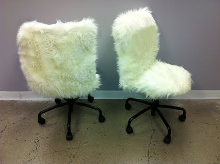 HOME Fur Desk Chairs