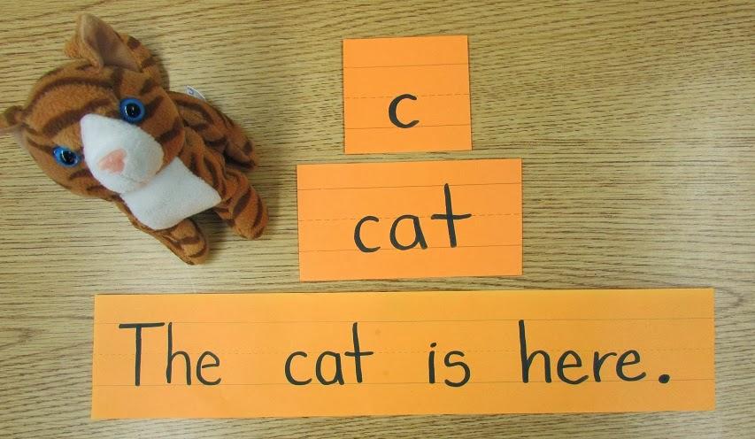 kindergarten holding hands and sticking together letter word