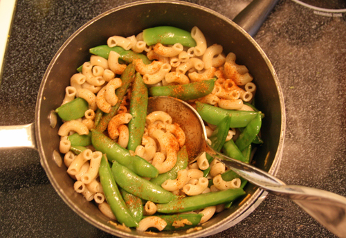 You can whip up this simple snap pea and pasta salad in a matter of ...