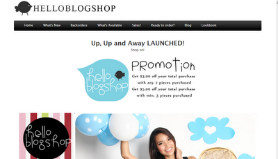 helloblogshop1 Blogger Review: Hello Blogshop